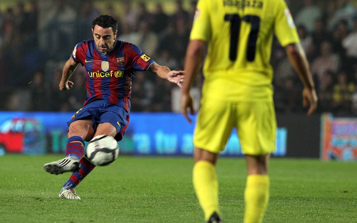 Xavi: A specialist on the road