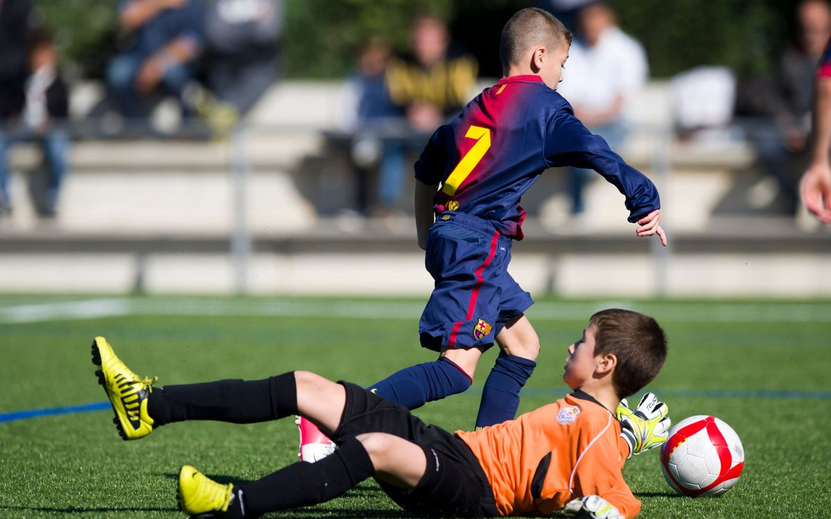 Top 5 goals scored by Barça youth teams this week
