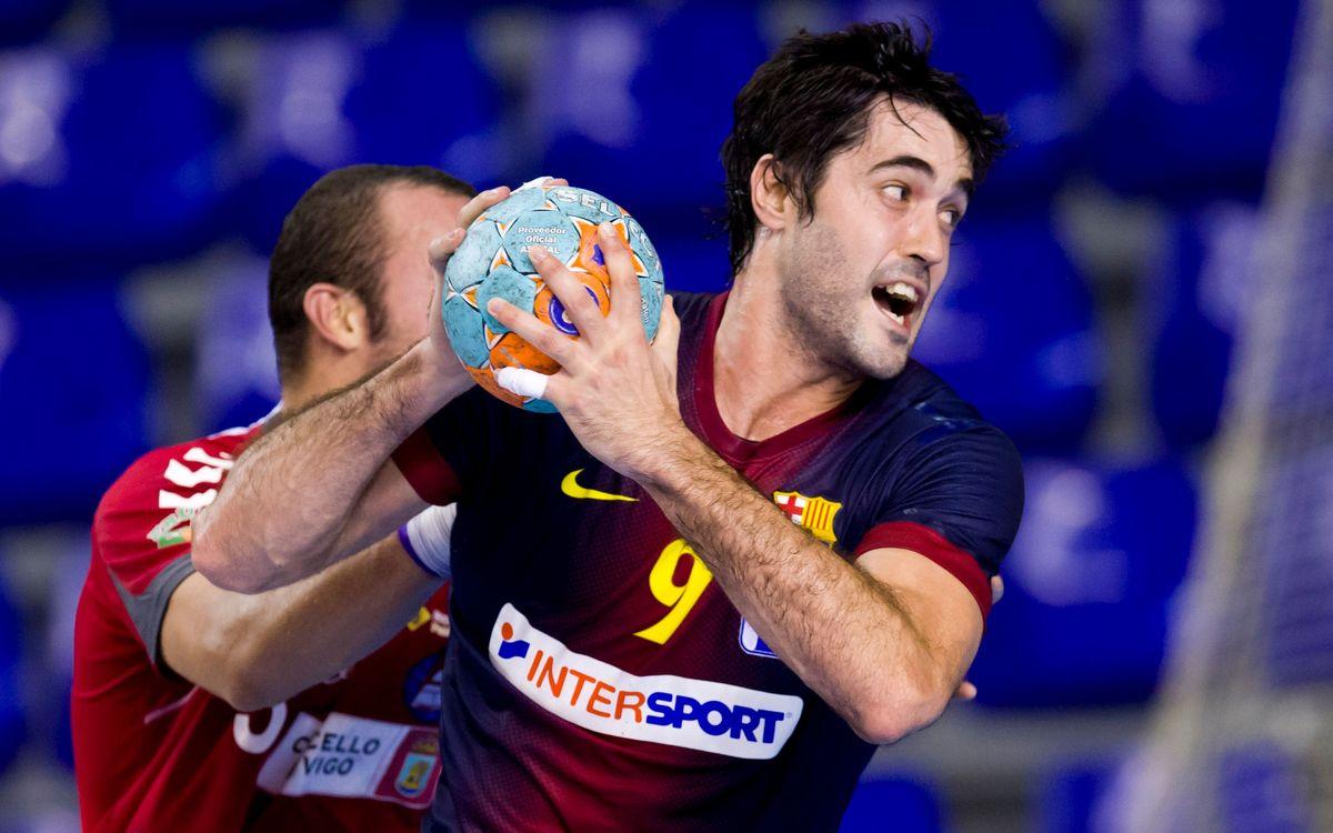 Raúl Entrerríos es lesiona a la mà i estarà unes sis setmanes de baixa