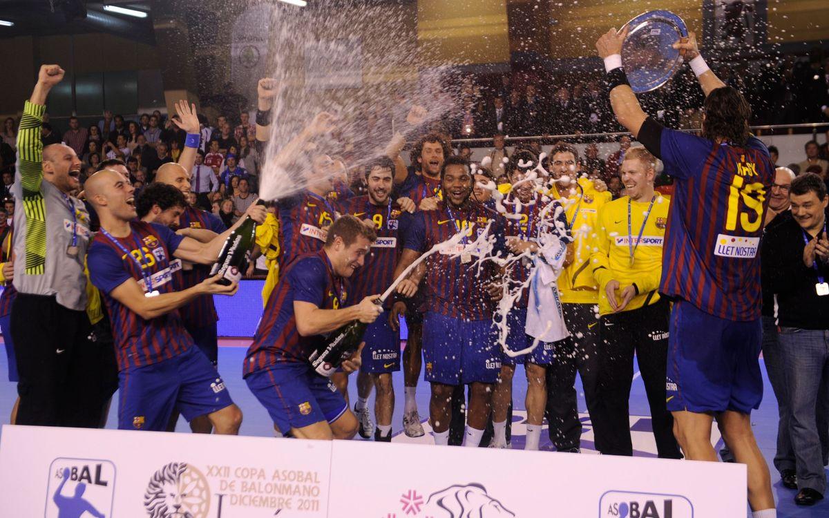 El Reale Ademar de Lleó, serà el rival del FC Barcelona Intersport a la semifinal de la Copa Asobal