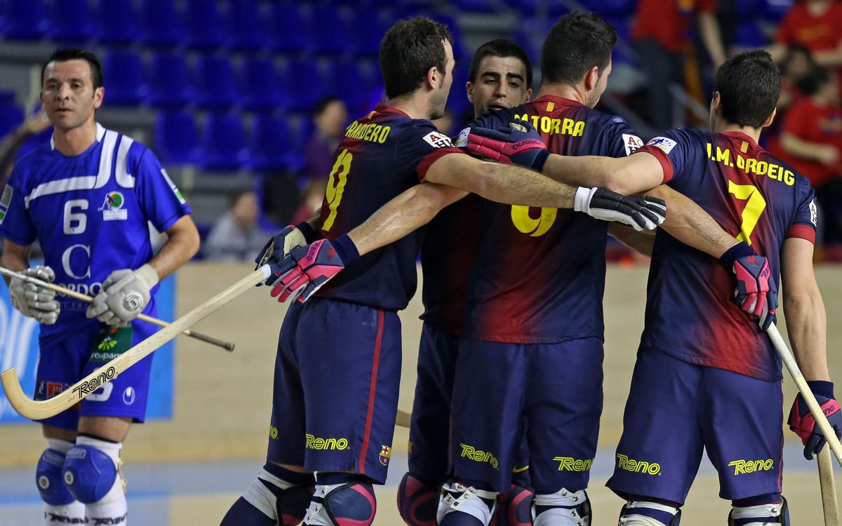 FC Barcelona – HC Dinan Quevert: Victory and to the quarter-finals! (4-2)