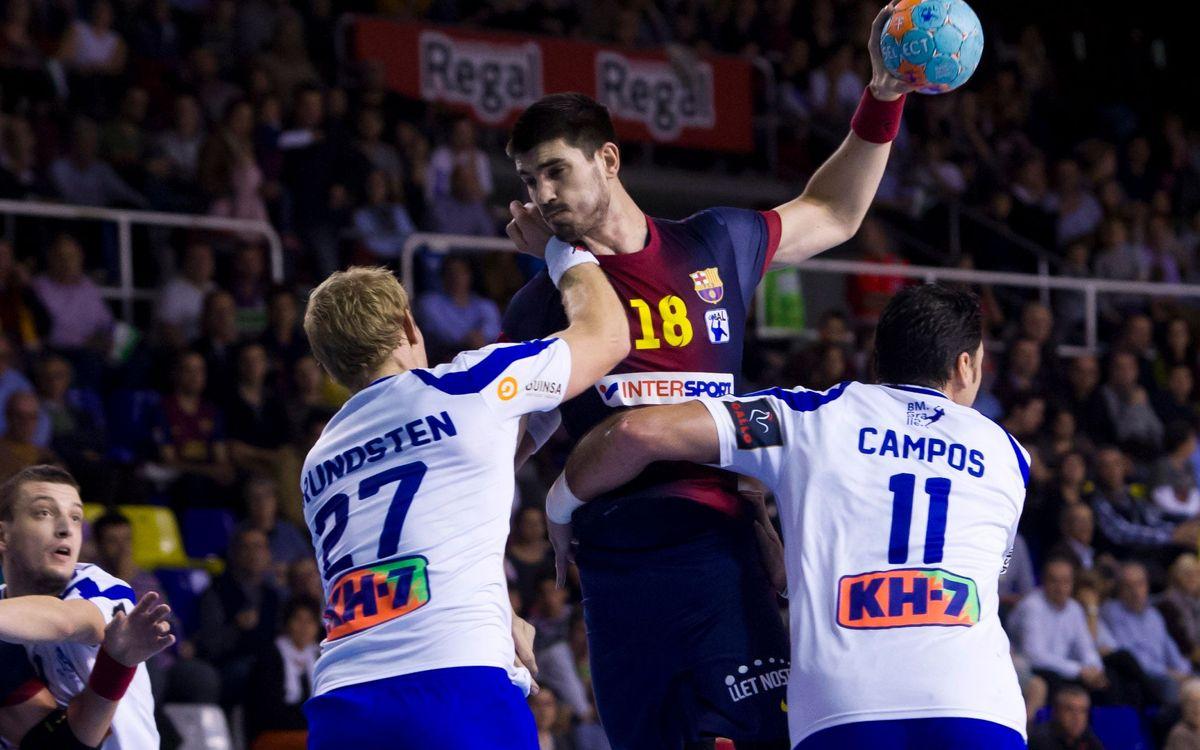 Gurbindo enters FC Barcelona Intersport history, scores team's 10,000th goal in European play