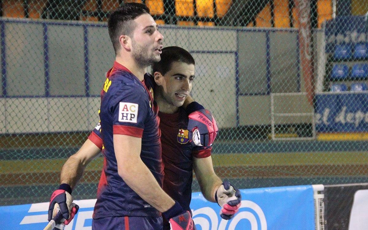 CP Vilanova - FC Barcelona: Victory at Casernes (0-1)