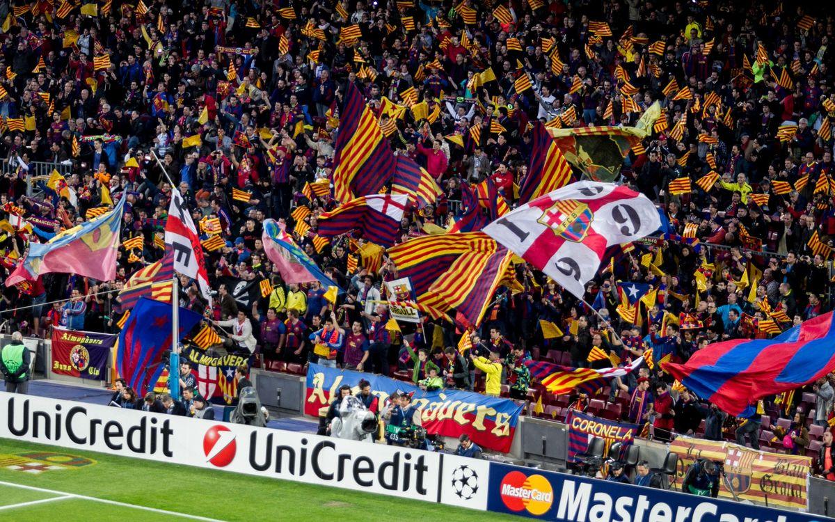 #classicFCB: Envia'ns les teves fotos del Barça-Madrid