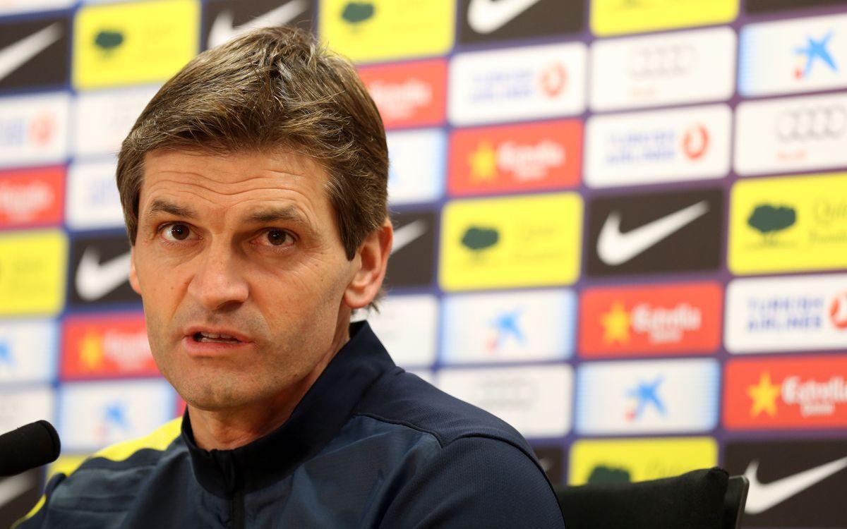 """Tito Vilanova: """"Athletic Bilbao will play the same way they did last season"""""""