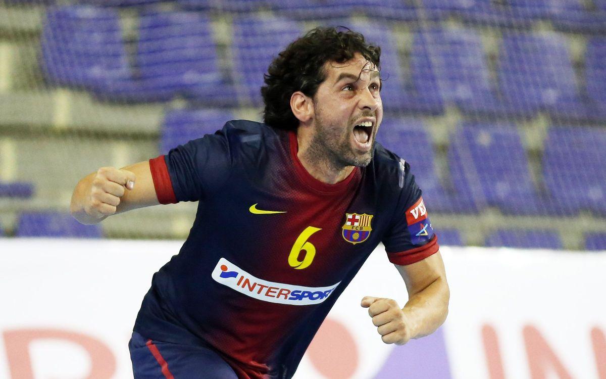 BM Aragó - Barça Intersport: Advantage Barça (30-34)