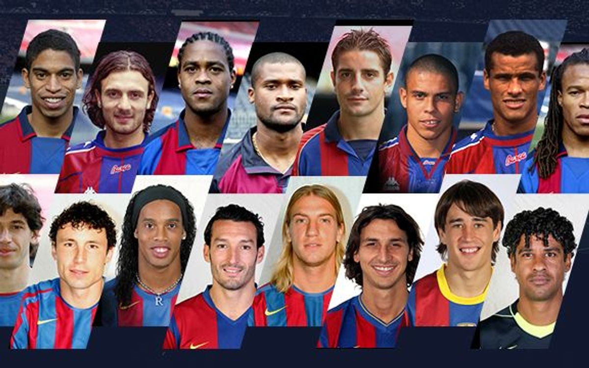 The Milan-Barcelona motorway: Players who have made the journey from one team to the other