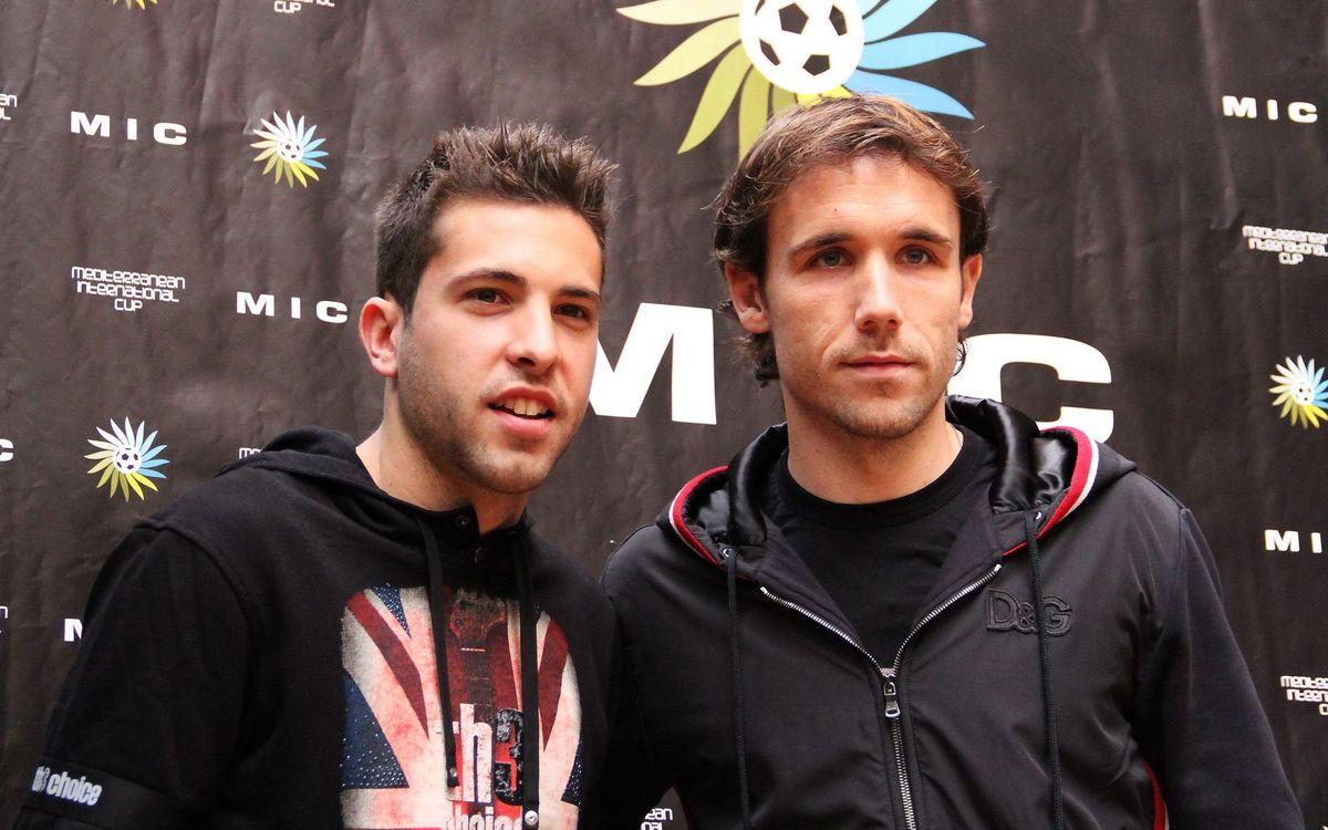 "Jordi Alba: ""I'm very sure we'll go through to the next round"