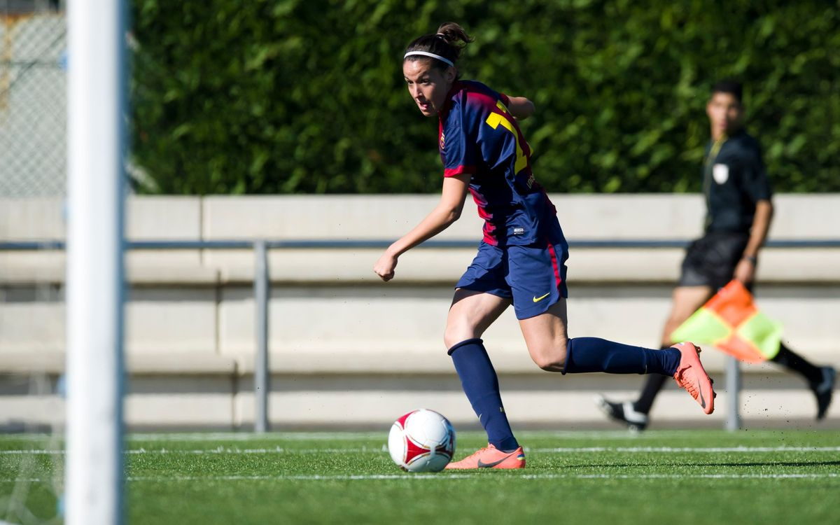 FCB-Lagunak: FCB Women's team continue to climb (6-1)