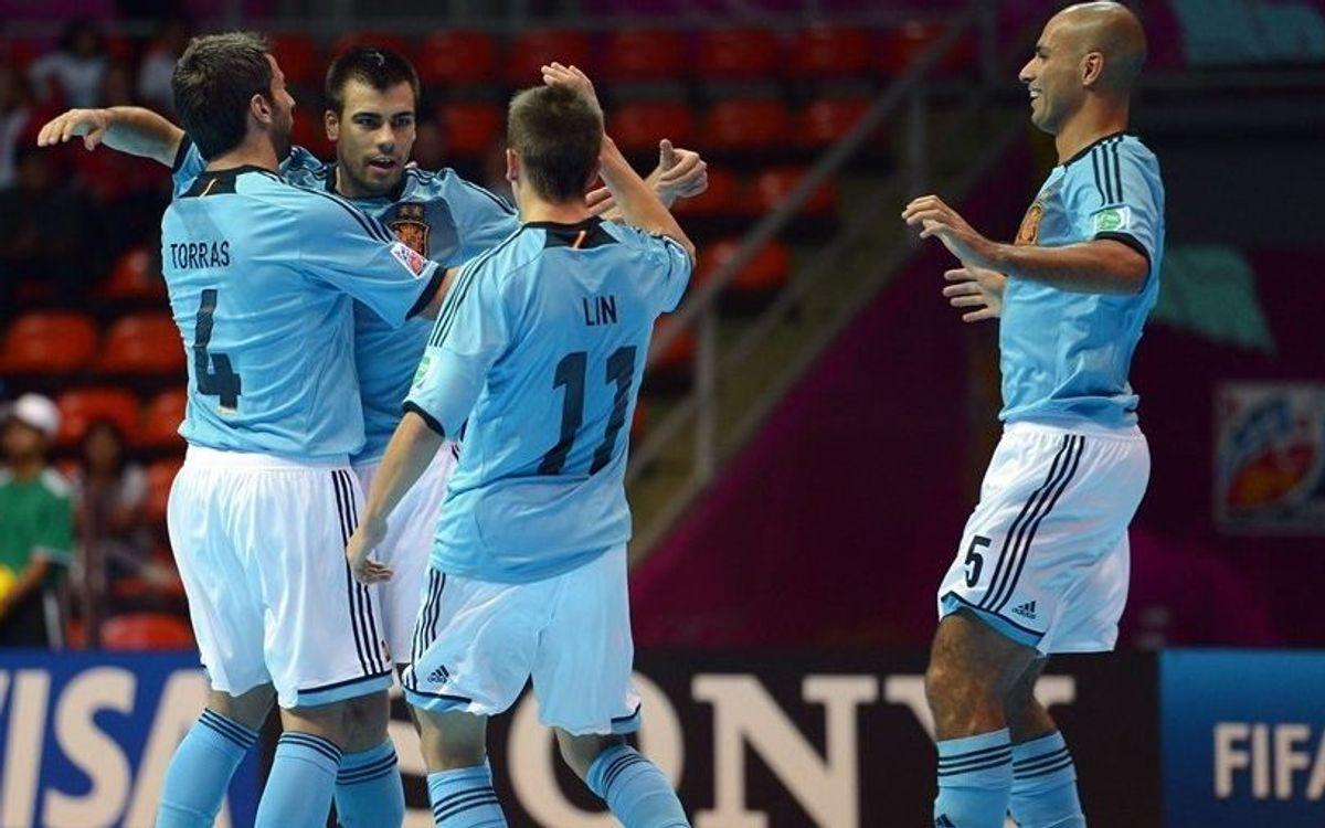 Fernandao debuta, marca i Espanya es classifica per a vuitens