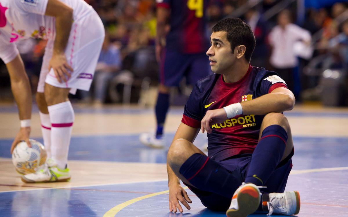 El Barça Alusport no ha jugat cap partit oficial aquesta temporada amb l'equip al complet