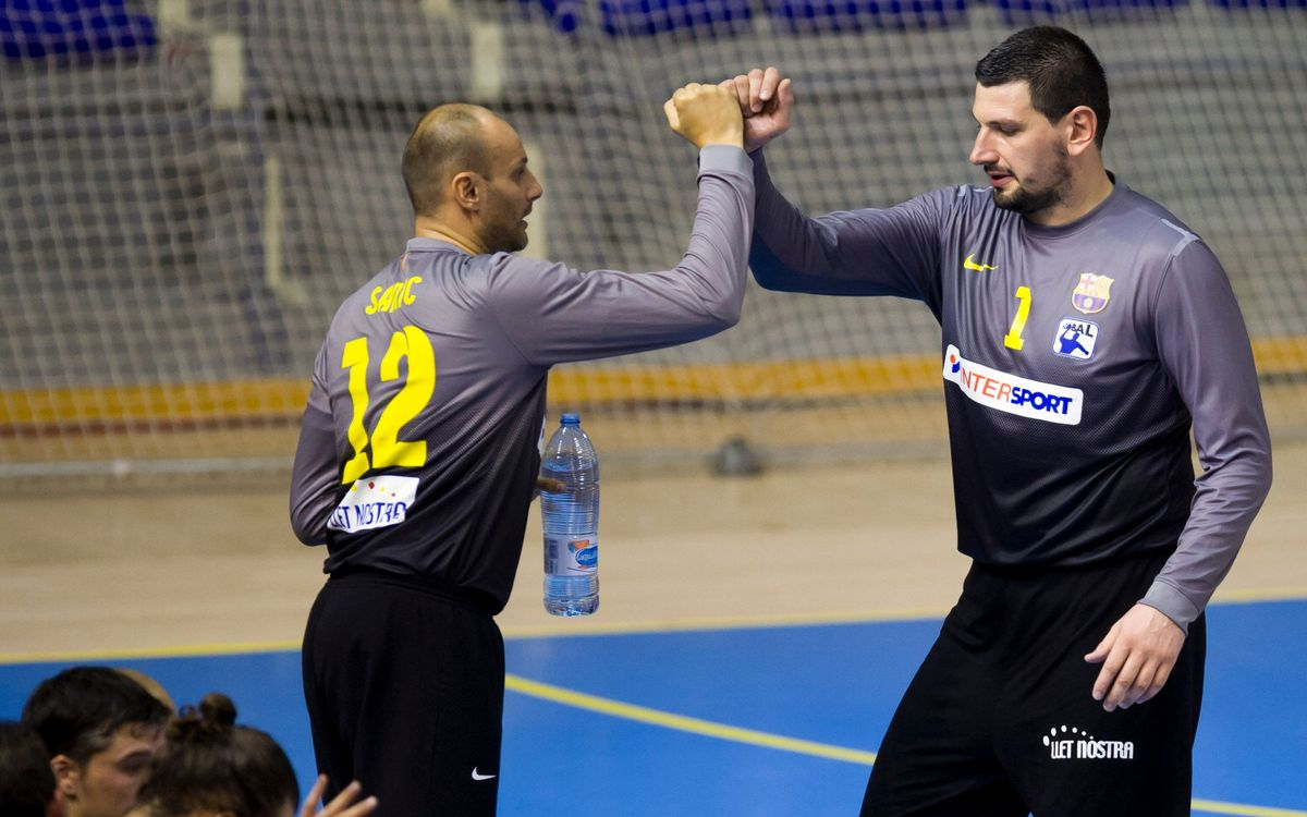 El Barça Intersport, ambició màxima a la Lliga Asobal