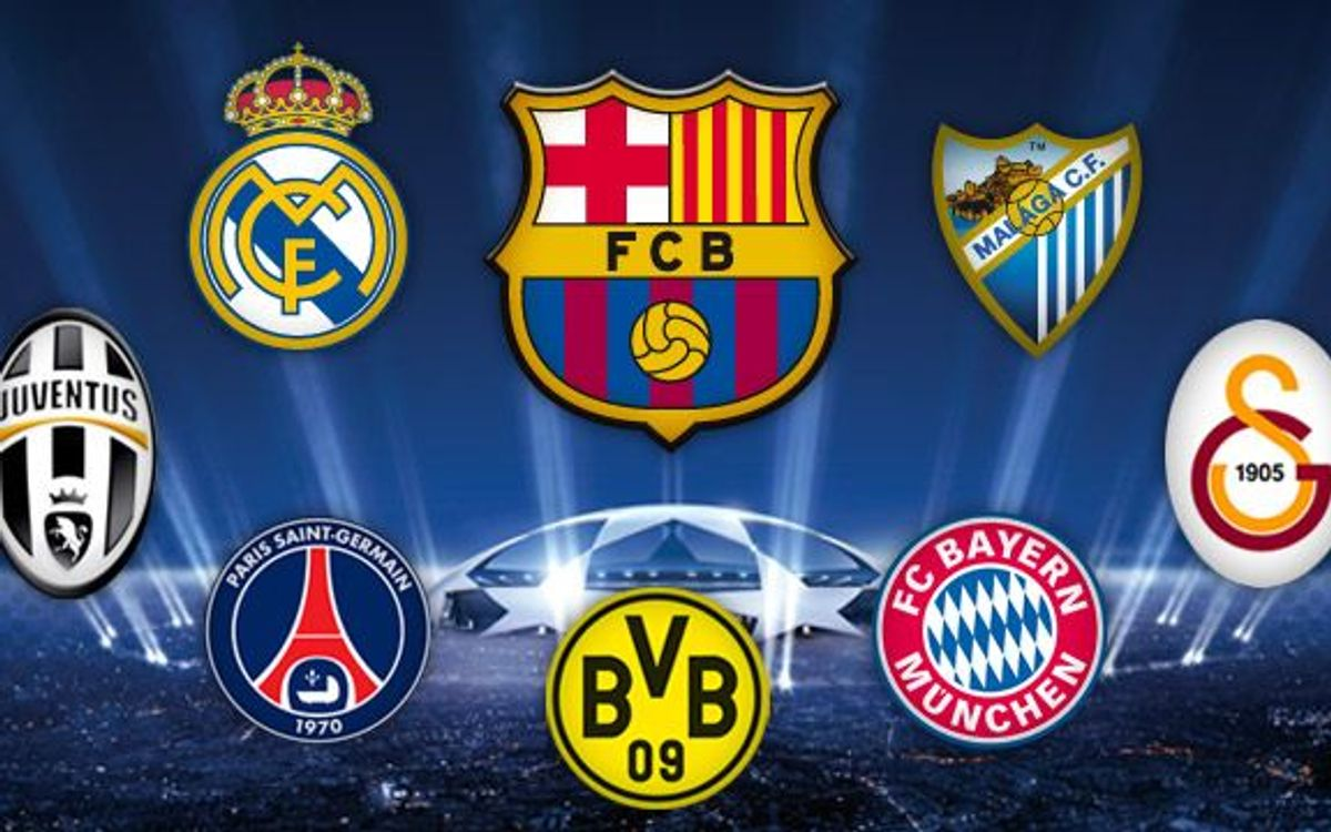 FC Barcelona's seven possible rivals in the Champions League quarter-finals