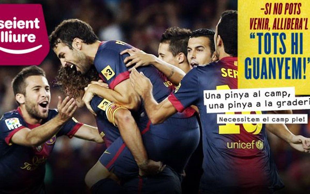 Aquest dimarts, cap seient buit al Camp Nou!