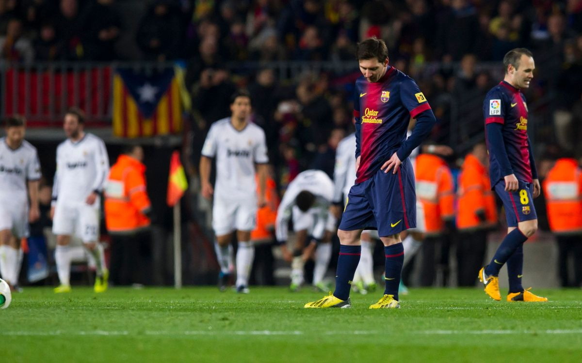 FC Barcelona-R.Madrid: Out of the cup (1-3)