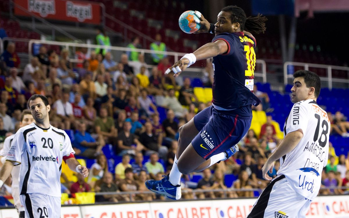 Copa del Rei d'handbol: Cara o creu a Pamplona per al Barça Intersport
