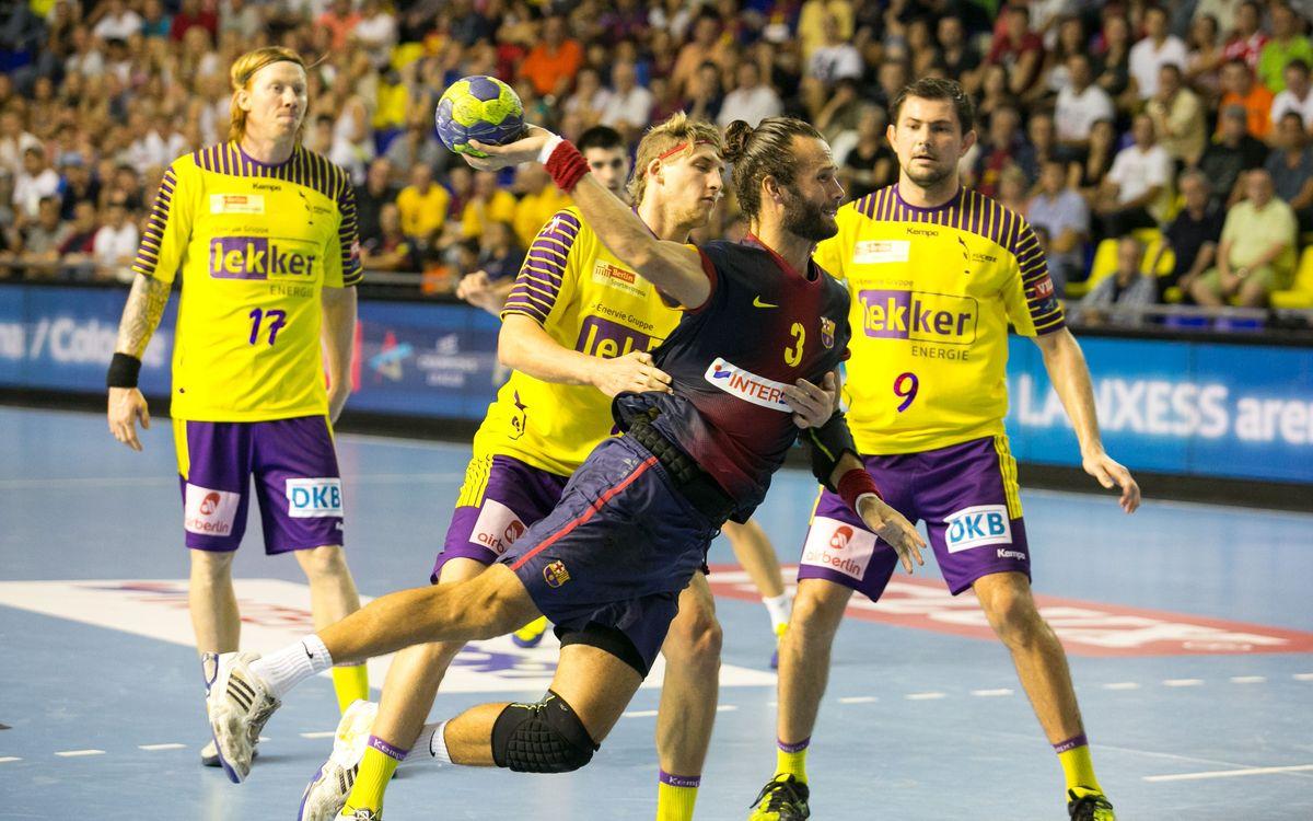 La Champions d'handbol entra en escena per al FC Barcelona Intersport
