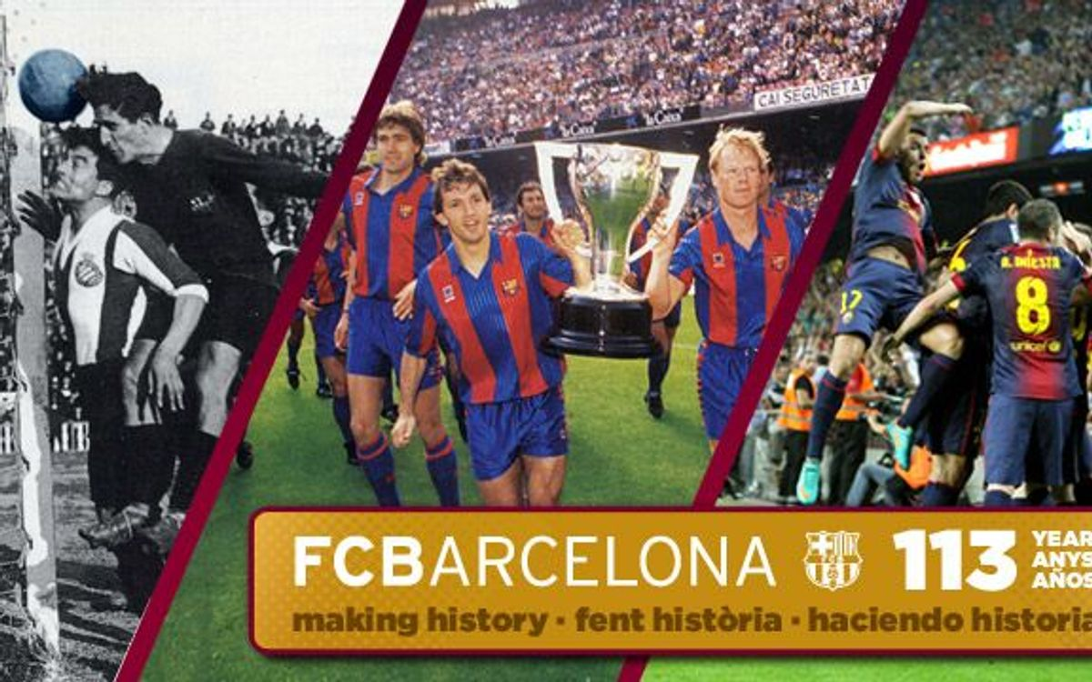 There's plenty to celebrate on Barça's 113th anniversary