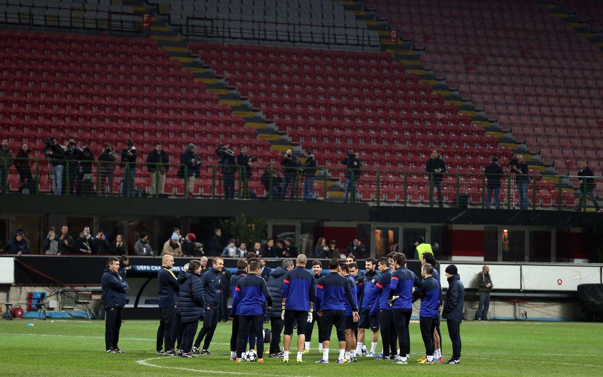La prèvia del Milan - FC Barcelona, en deu notícies