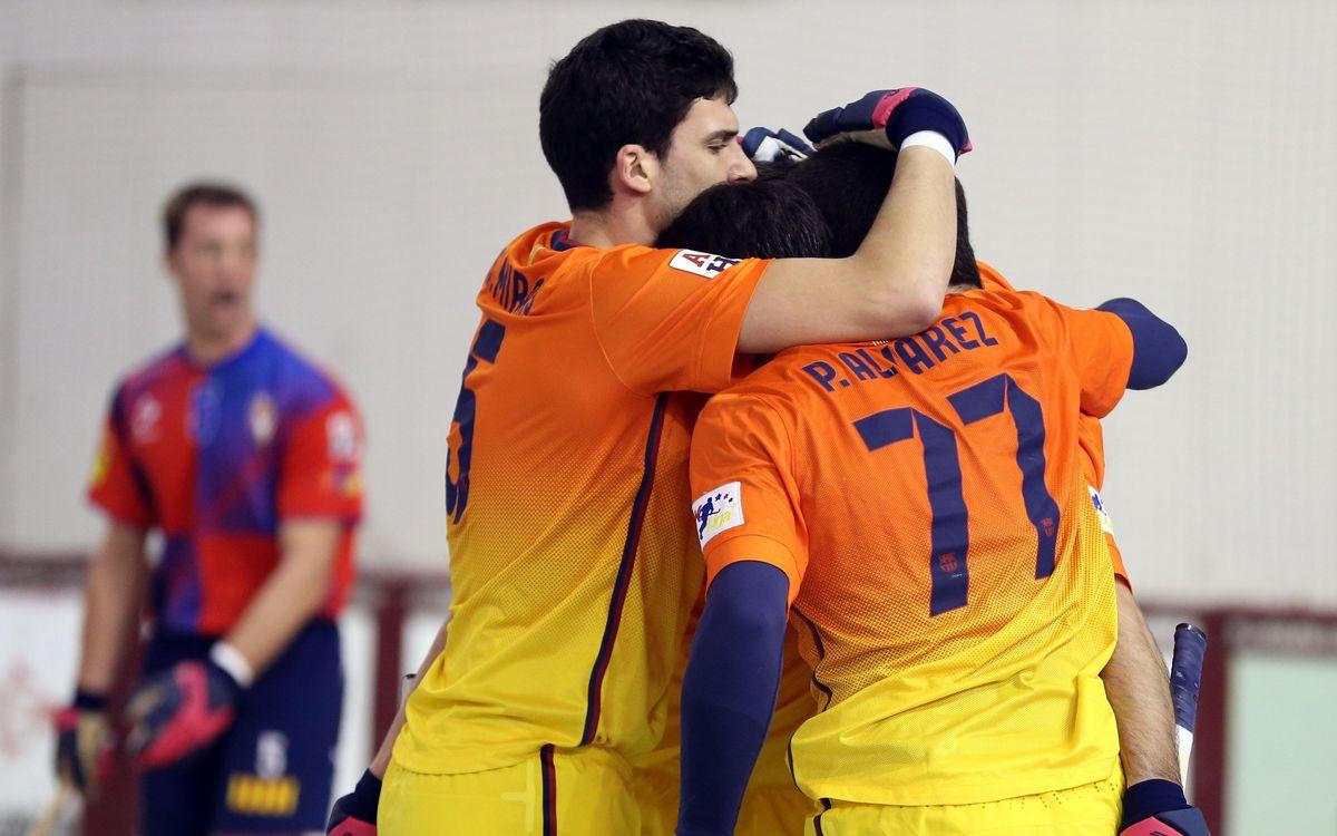 El Barça es guanya a Les Comes poder ser primer i tenir avantatge de camp als quarts de final