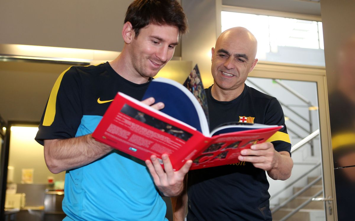 Video hightlights: Proud and Barça, the new book of our players