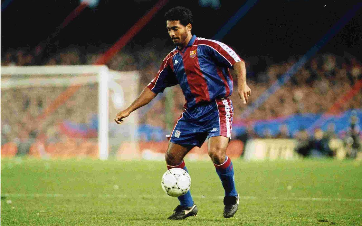 'Barça Legends' takes a look at Romario
