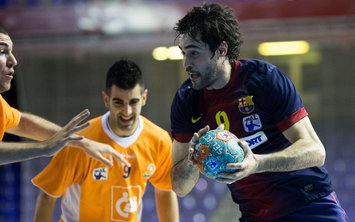 Arrenca la recta final per al FC Barcelona Intersport
