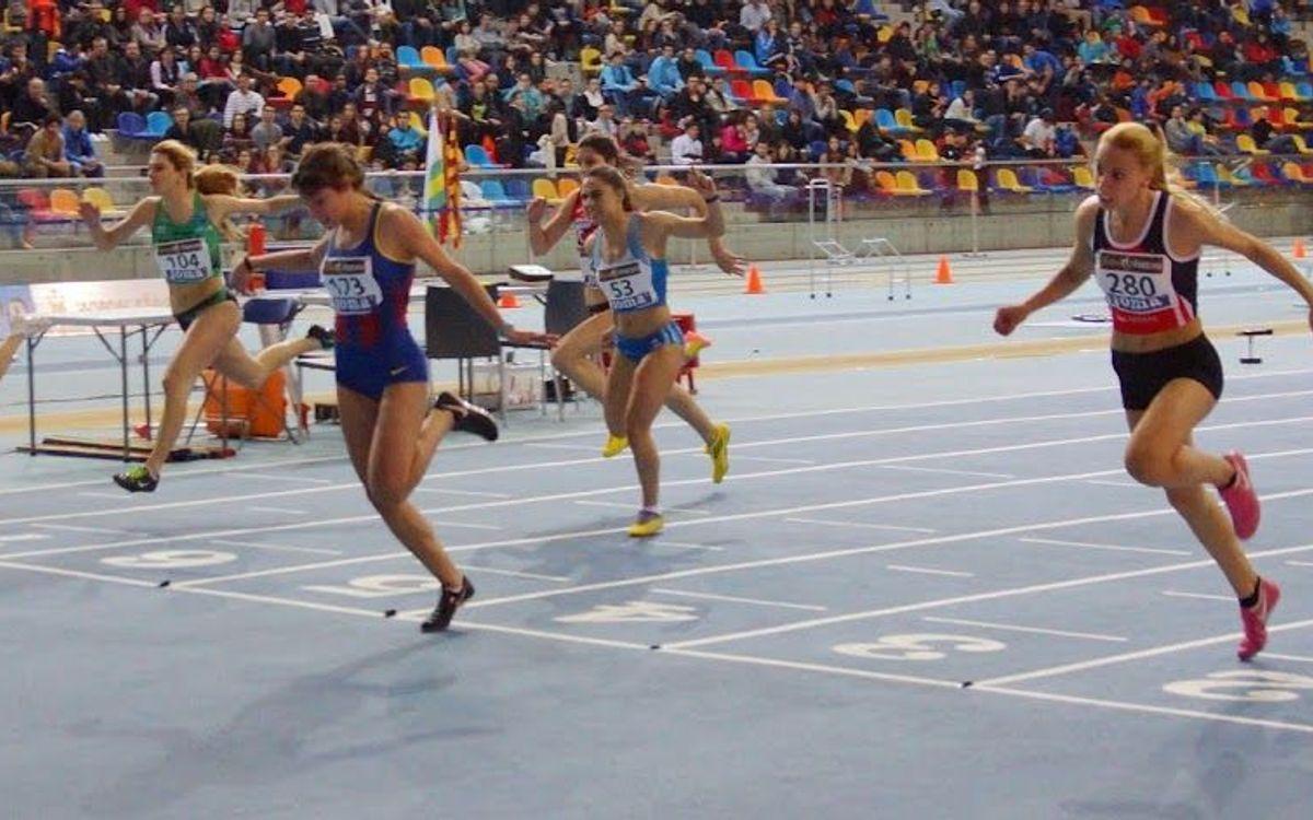 Èxits al campionat júnior d'atletisme en pista coberta