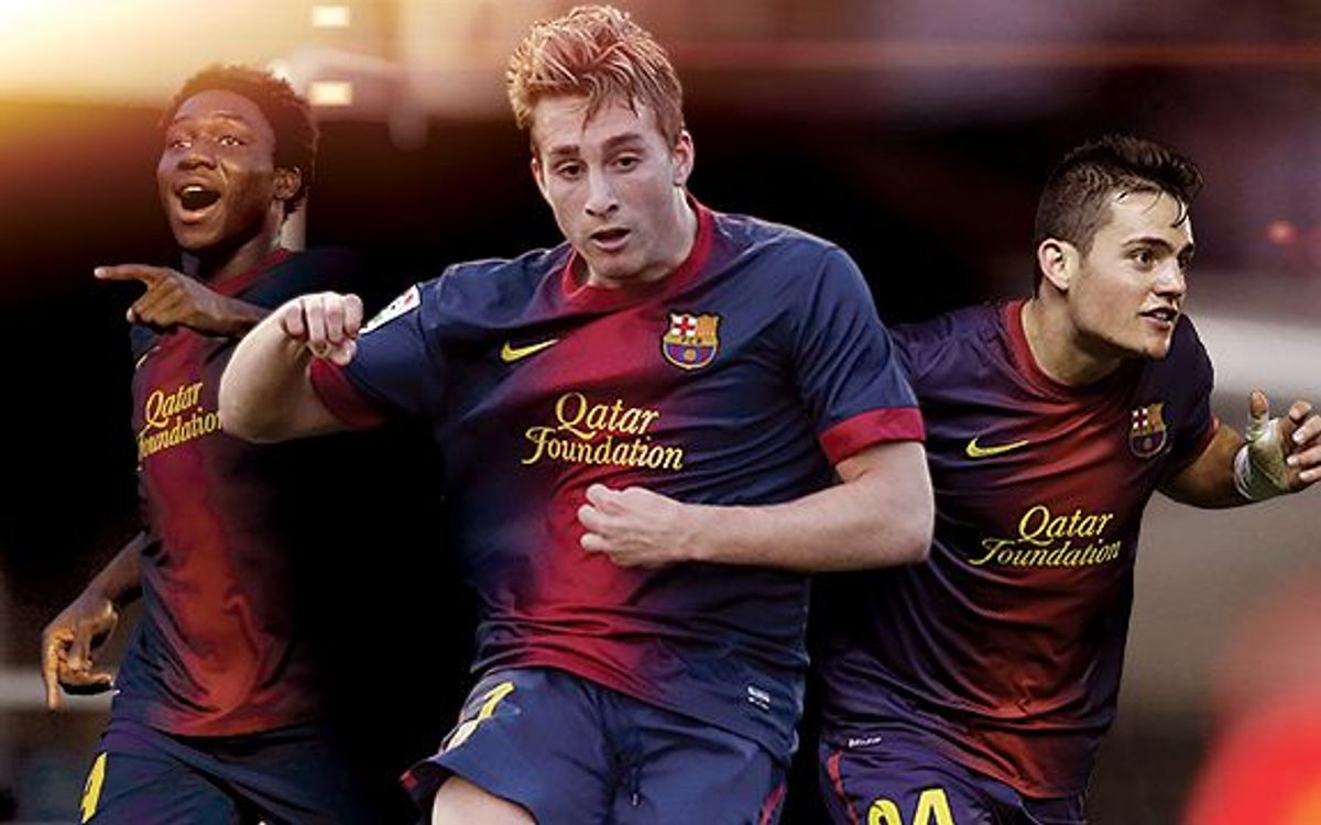 Dongou, Deulofeu and Joan Román: young, but very ready for the challenge