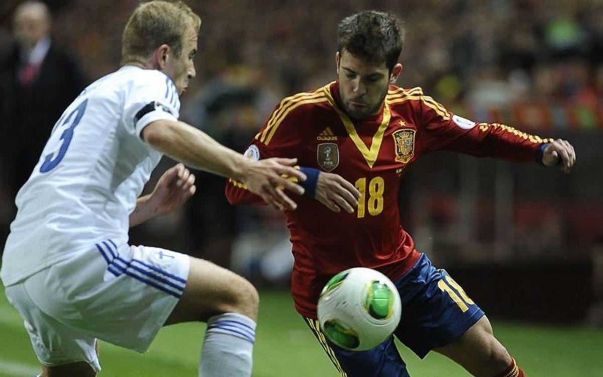 Jordi Alba returns to Barcelona