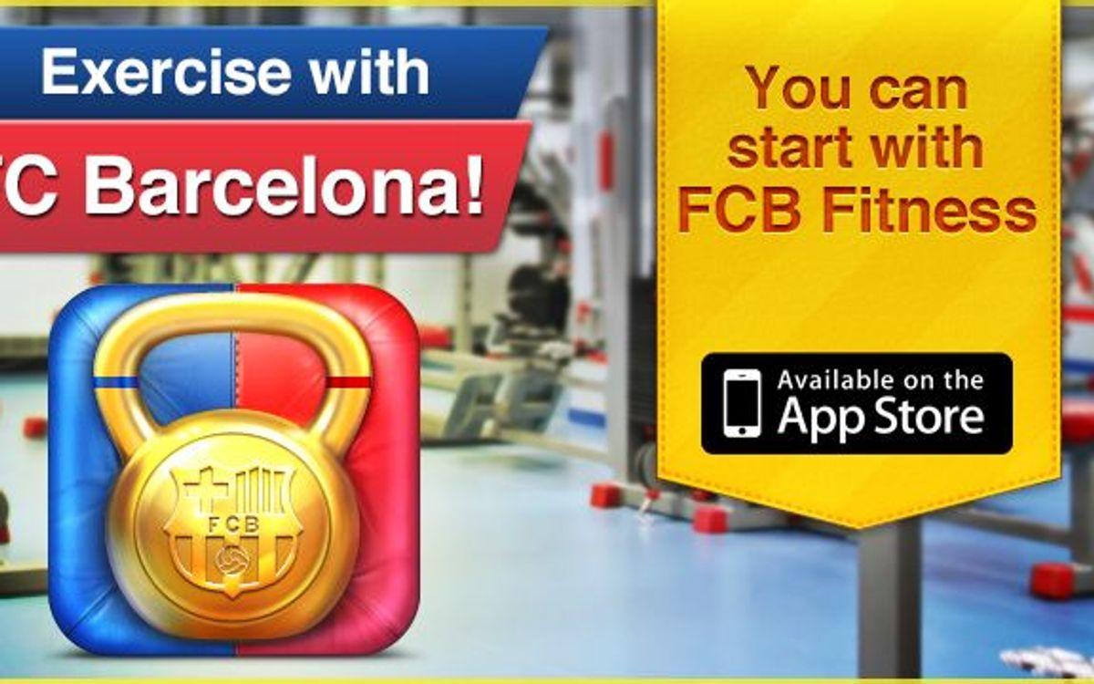 FCBフィットネス、 FCB Apps最初のアプリ発売