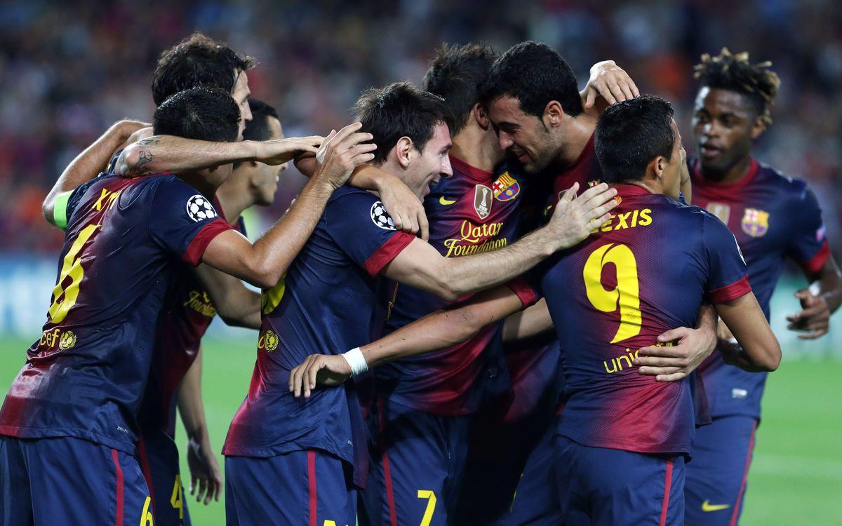 FC Barcelona vs AC Milan: Night for magic