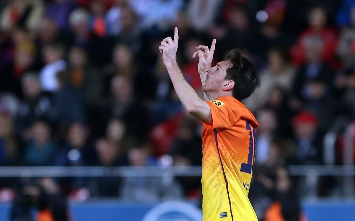 Leo Messi nominated for Laureus Sportsman of the Year award