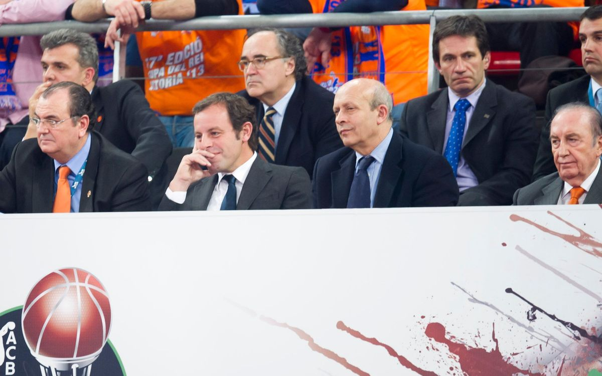"""Sandro Rosell: """"We won when it mattered the most"""""""