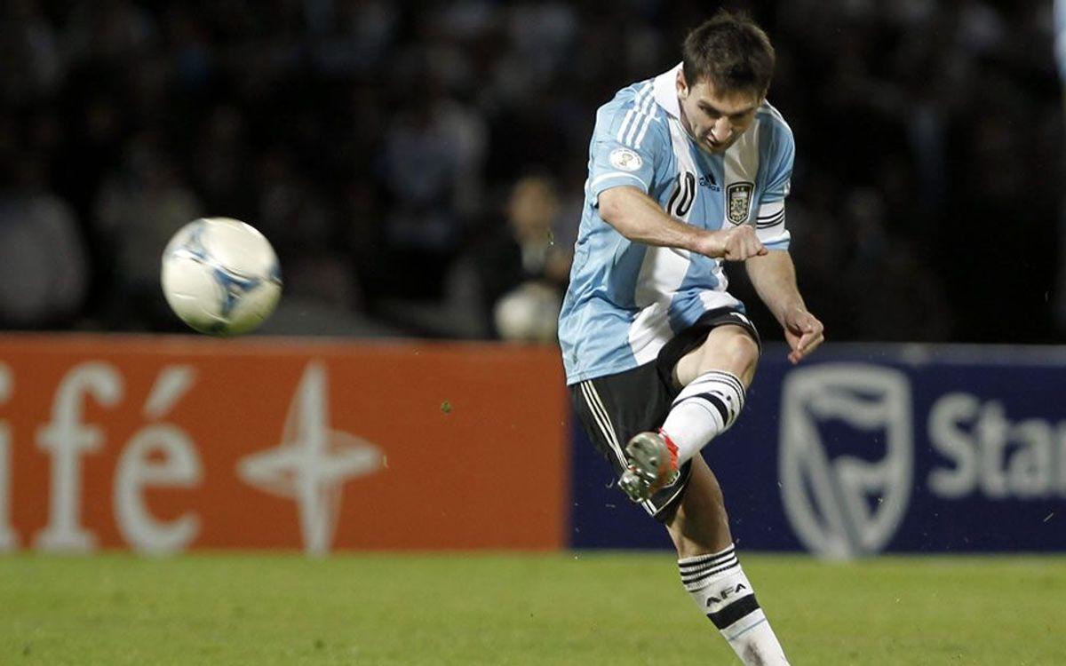 Messi lidera l'Argentina davant el Paraguai (3-1)