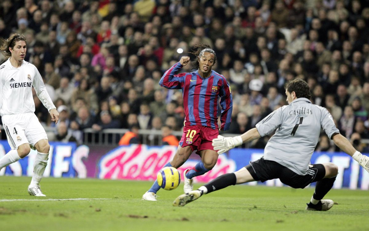 On this day...: Standing ovation for Ronaldinho at Santiago Bernabéu
