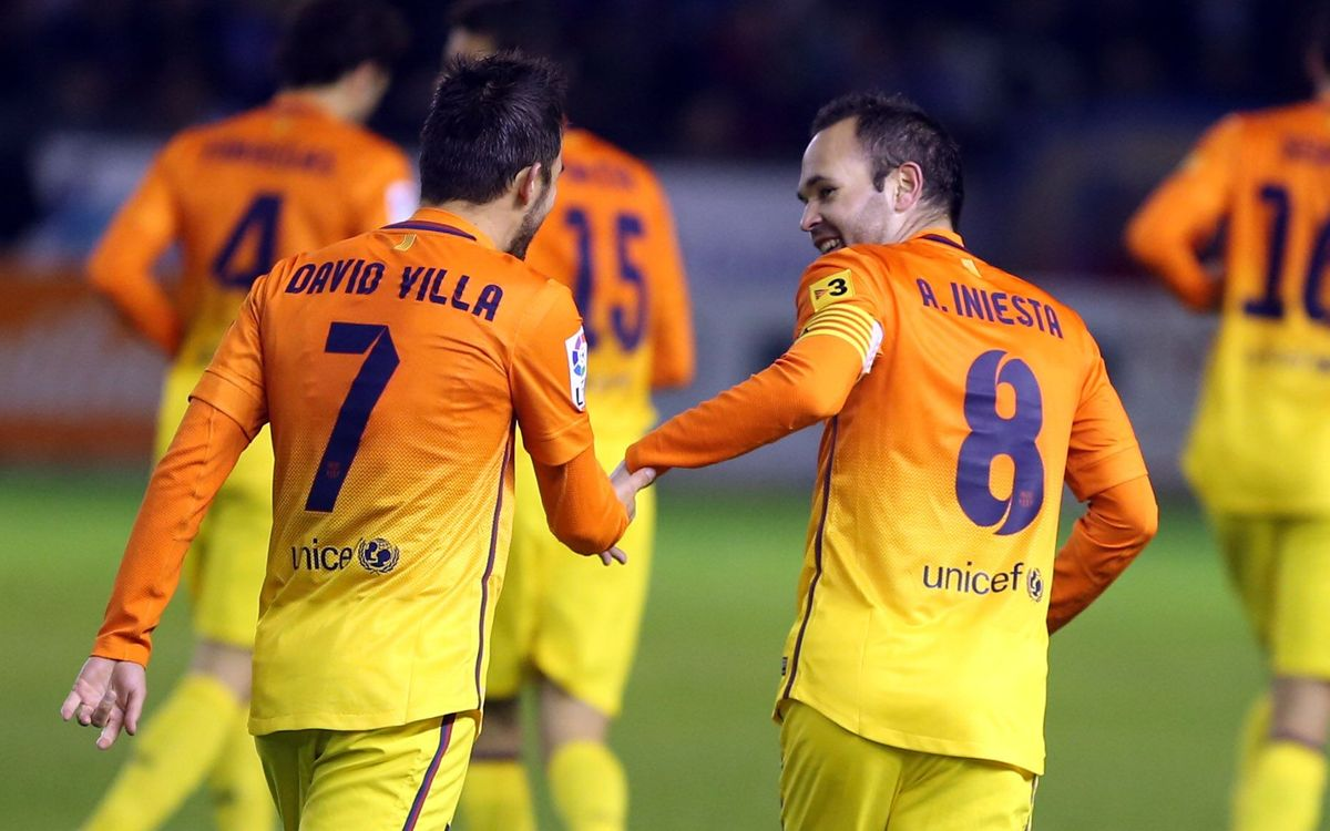 R.Mallorca-FC Barcelona: From Glasgow to Mallorca