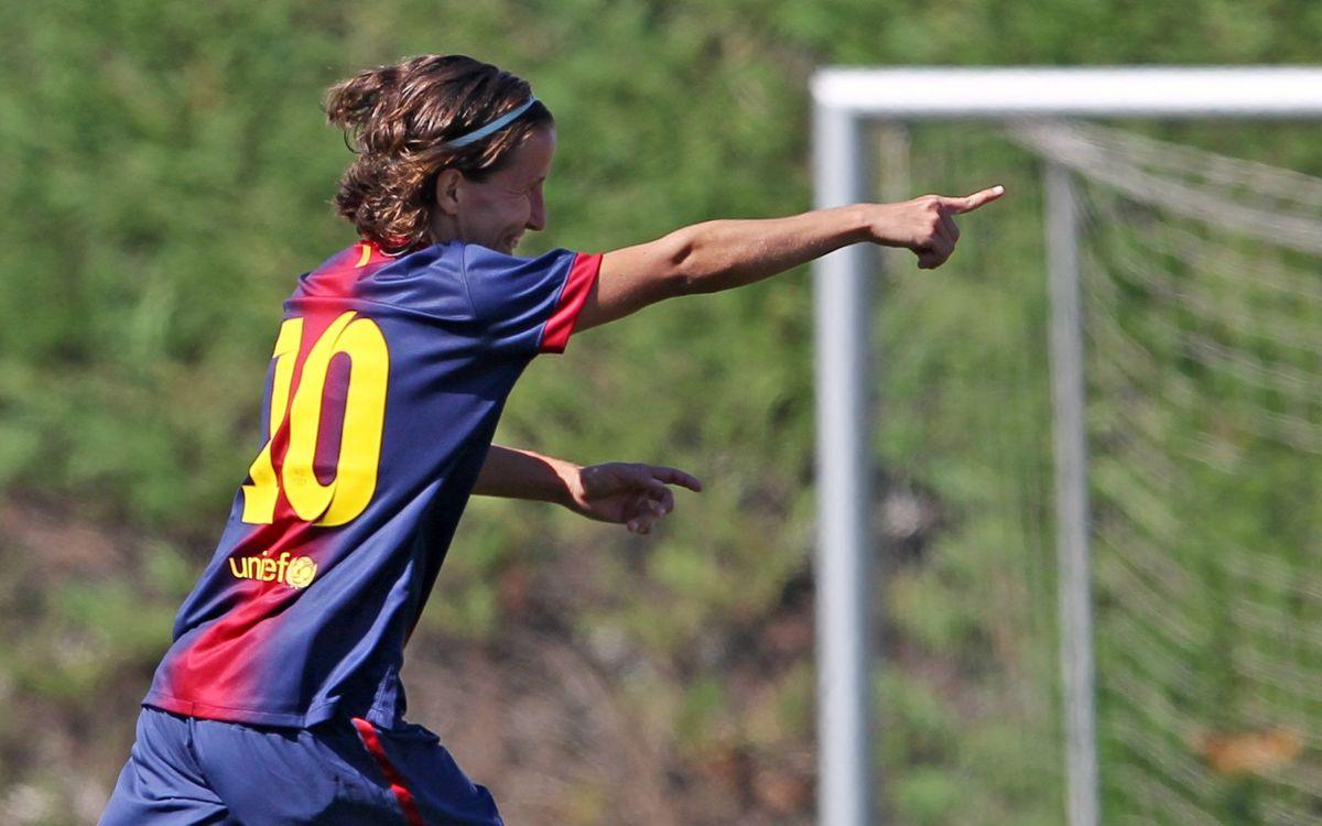 """Sonia Bermúdez: """"No compto els gols que marco, els 50 em semblen anecdòtics"""""""