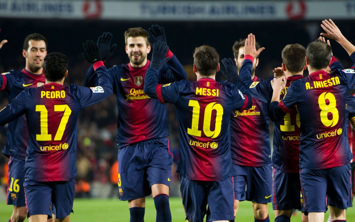 FC Barcelona secure 12th quarter-final berth, a record in the Champions League