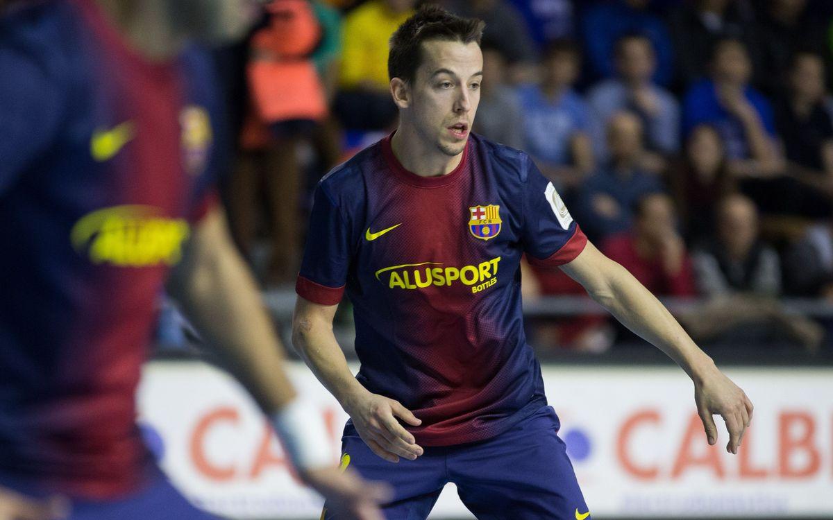 El Barça Alusport s'enfronta a l'Azkar com a cita prèvia abans de la Copa d'Espanya