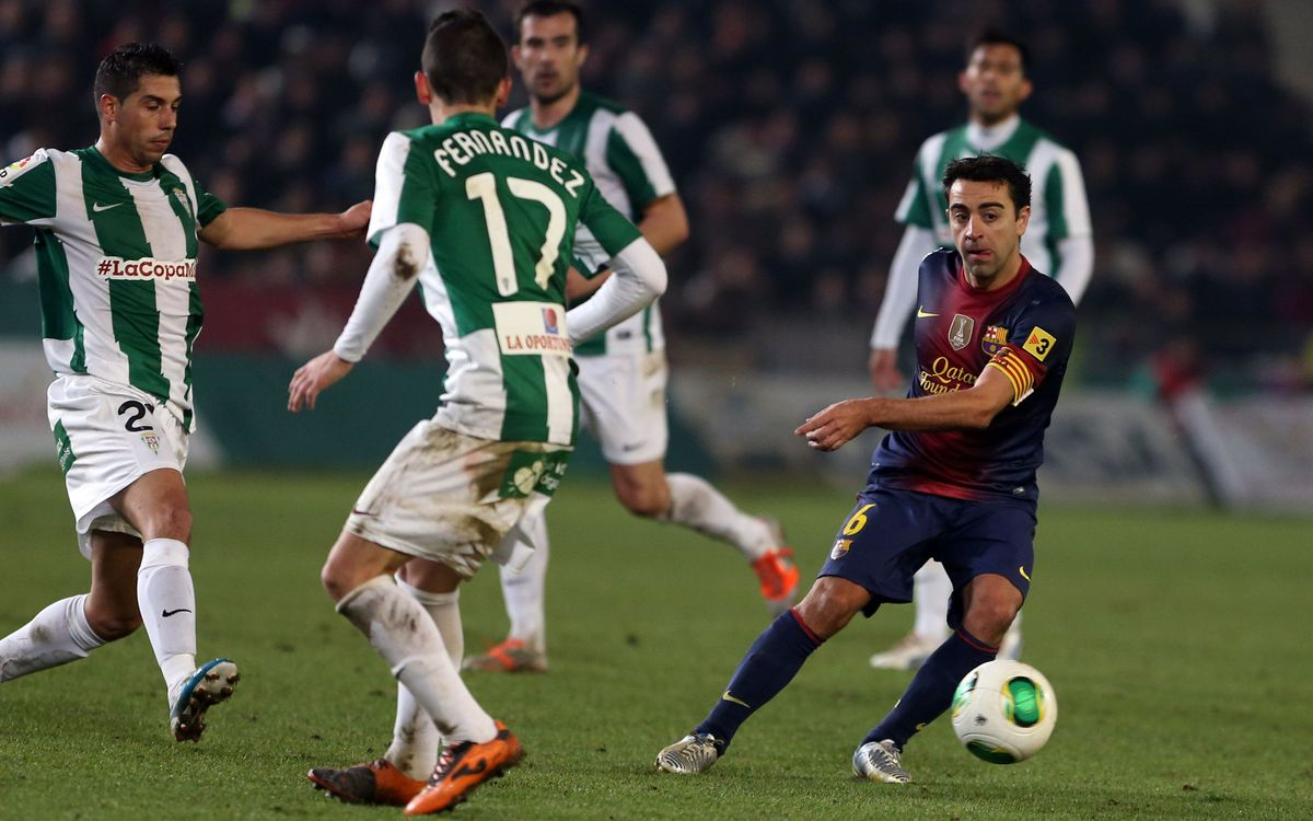 Stats and facts from the match against Córdoba