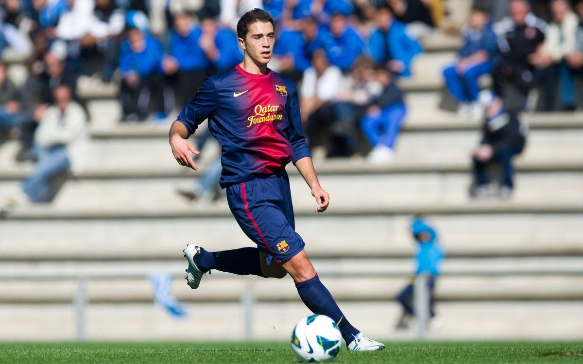 El Juvenil A guanya el Sant Andreu amb un gol d'Adama en el tram final (0-1)