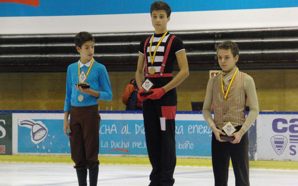 Grans resultats al Campionat d'Espanya Absolut de patinatge artístic sobre gel
