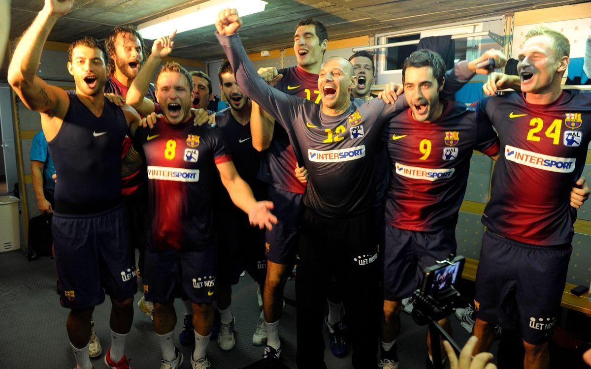 Dos de tres a Vistalegre per al FC Barcelona Intersport