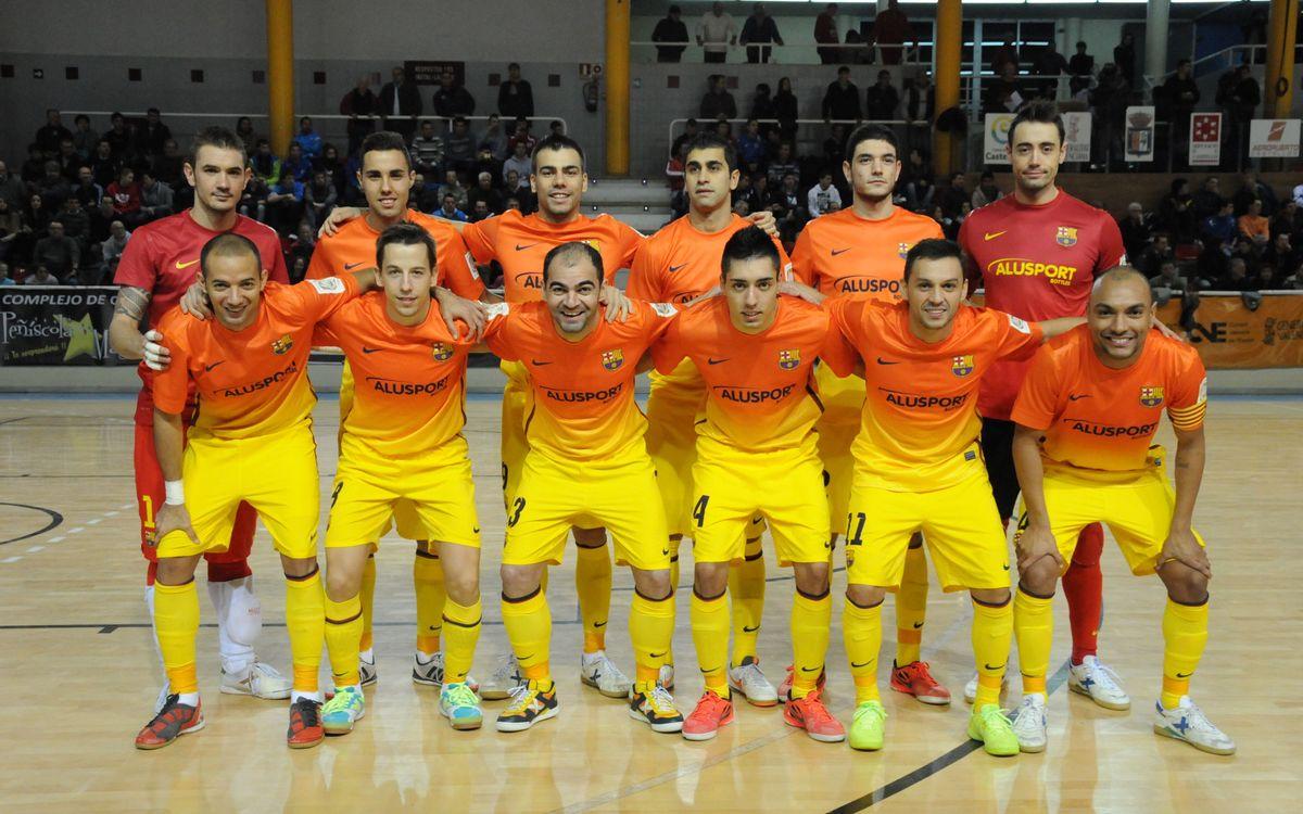 El Melilla és el rival del FC Barcelona Alusport als vuitens de final de la Copa del Rei