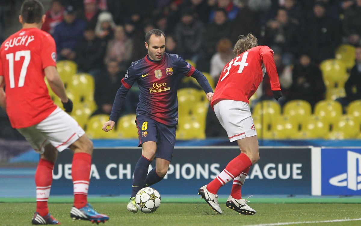 Eight magic seconds of Andrés Iniesta in Moscow