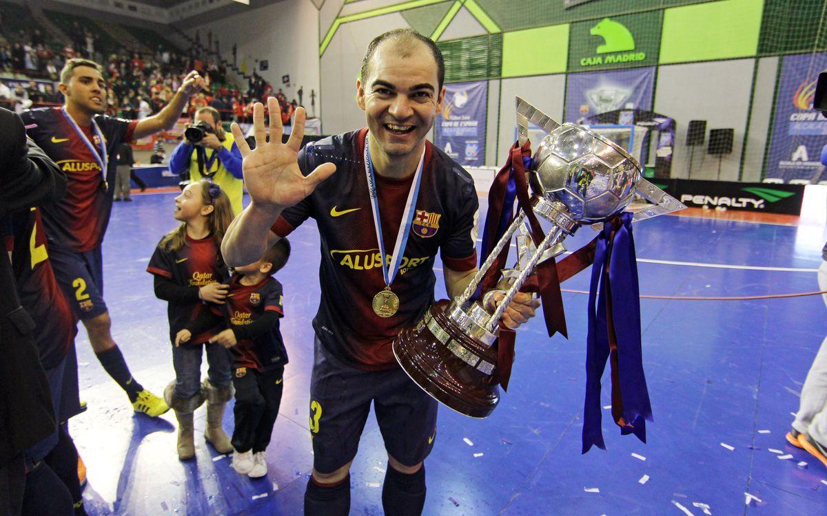 Tercera Copa d'Espanya consecutiva per al Barça Alusport