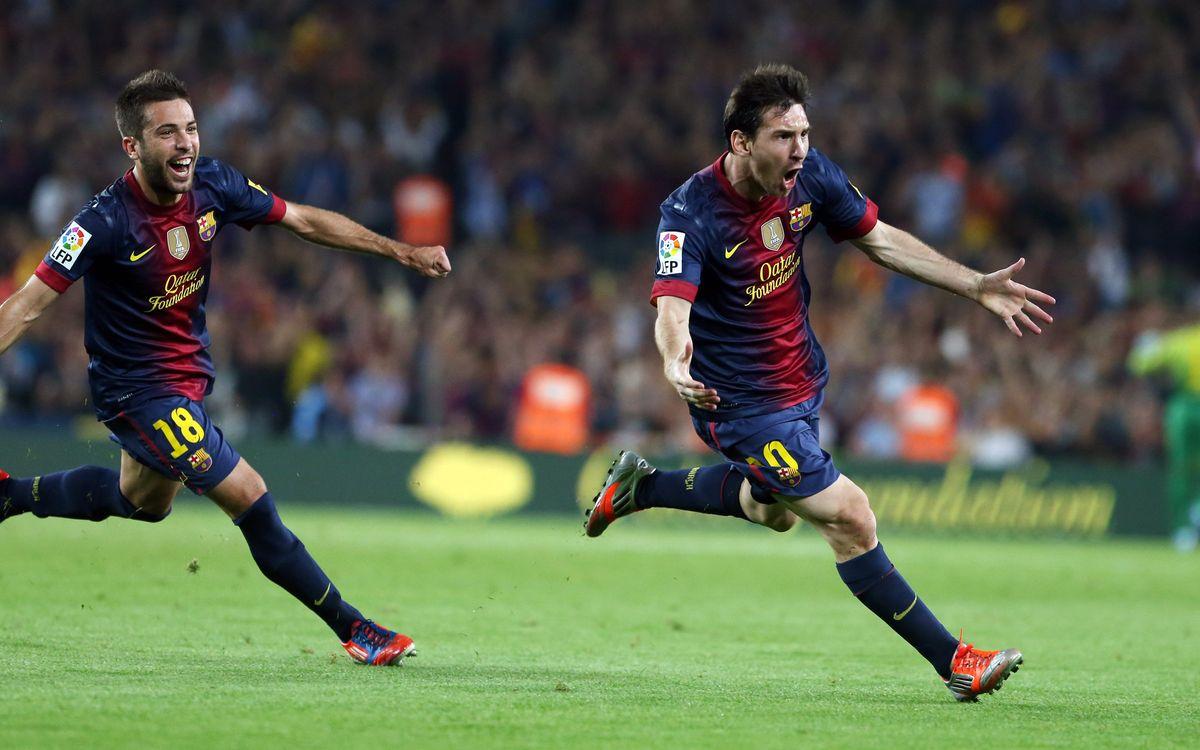 Le but, protagoniste du Barça de Tito en Liga