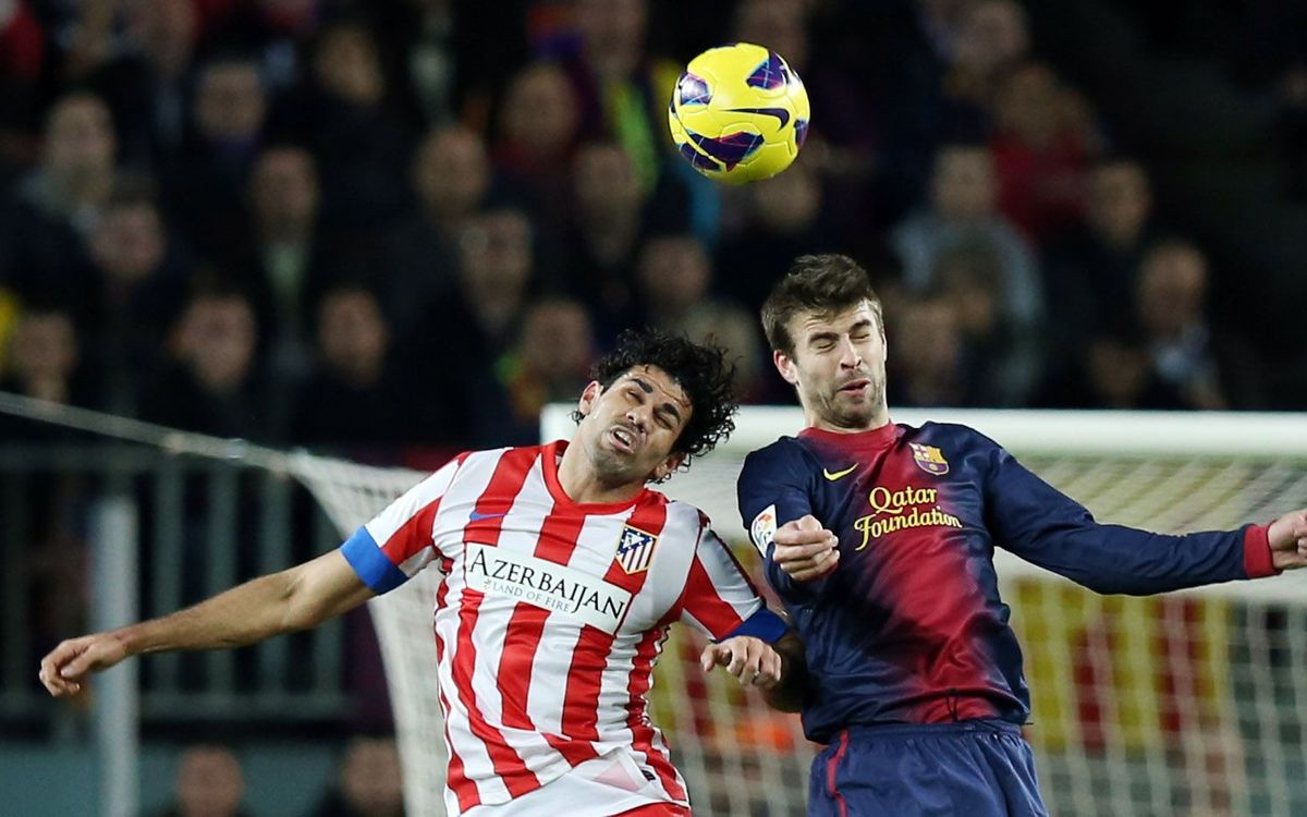 Gerard Piqué, 200 official matches with the first team