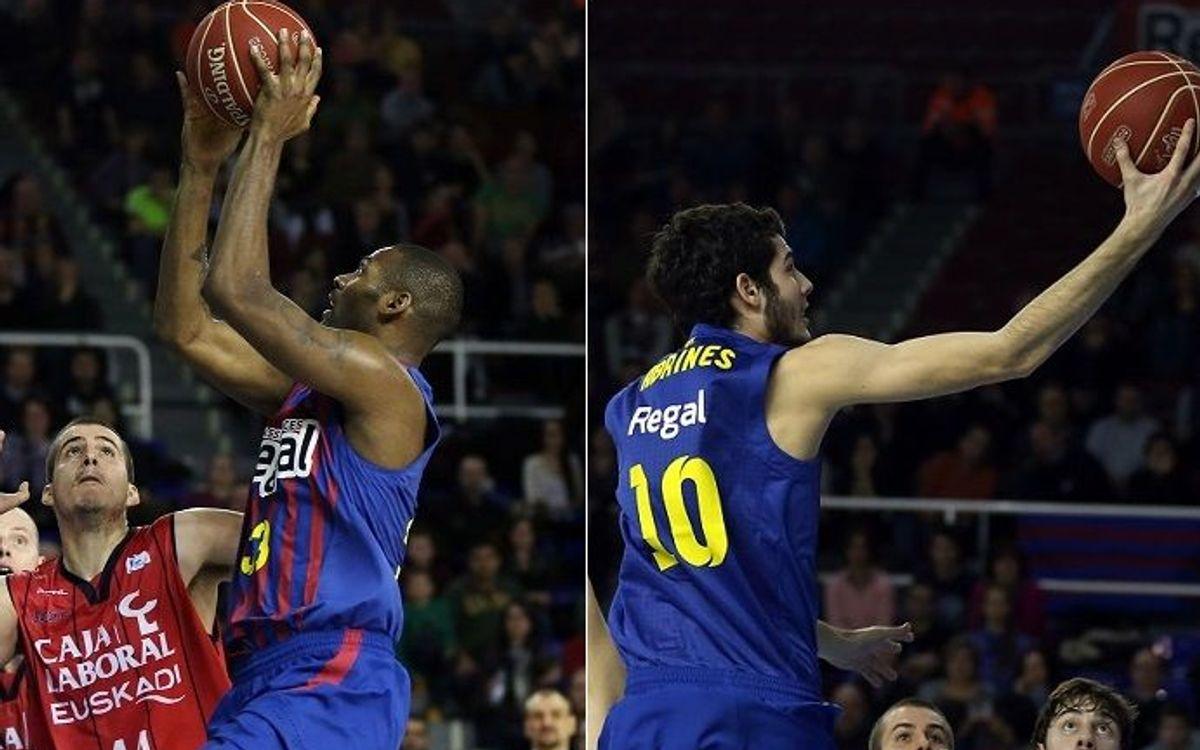 Mickeal i Abrines, premiats per la revista 'Gigantes del Basket'